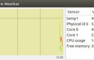 Linux系统检测CUP温度